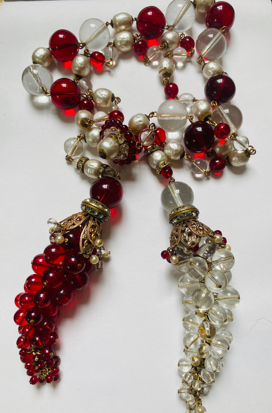Chanel 1930's rare necklace and earrings