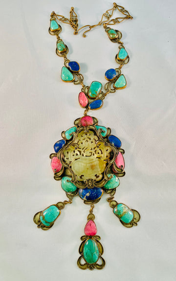 California 1960's necklace