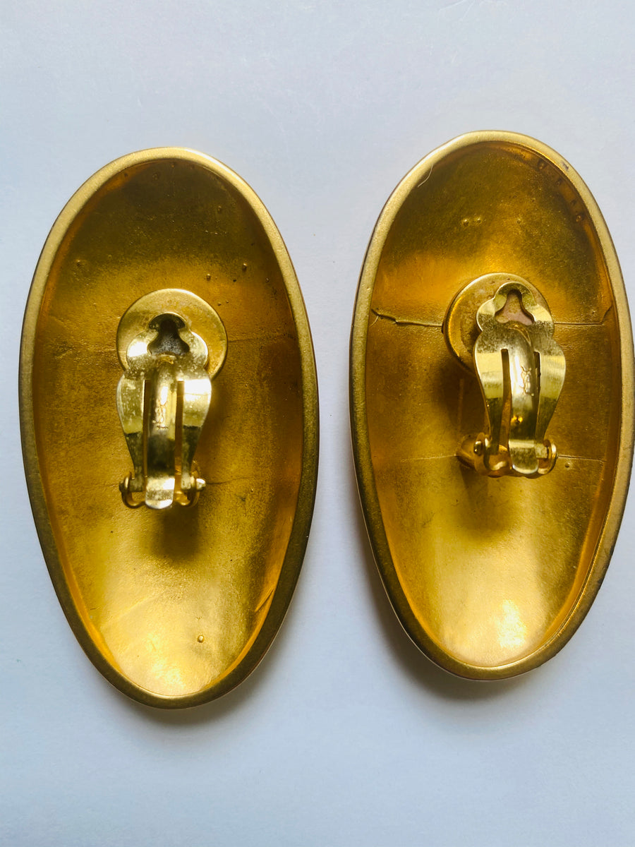Yves Saint Laurent vintage earrings