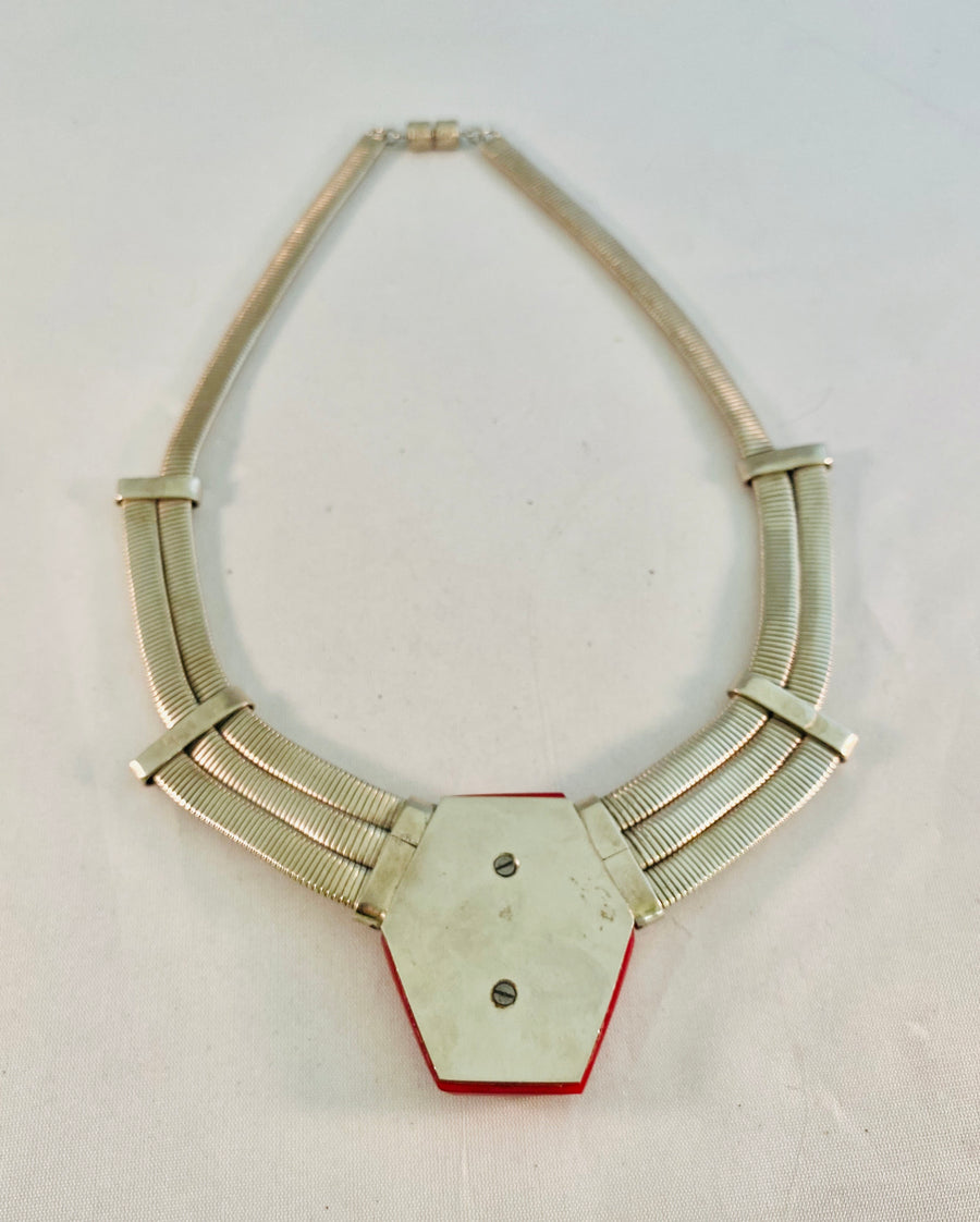 Machine Age German Necklace