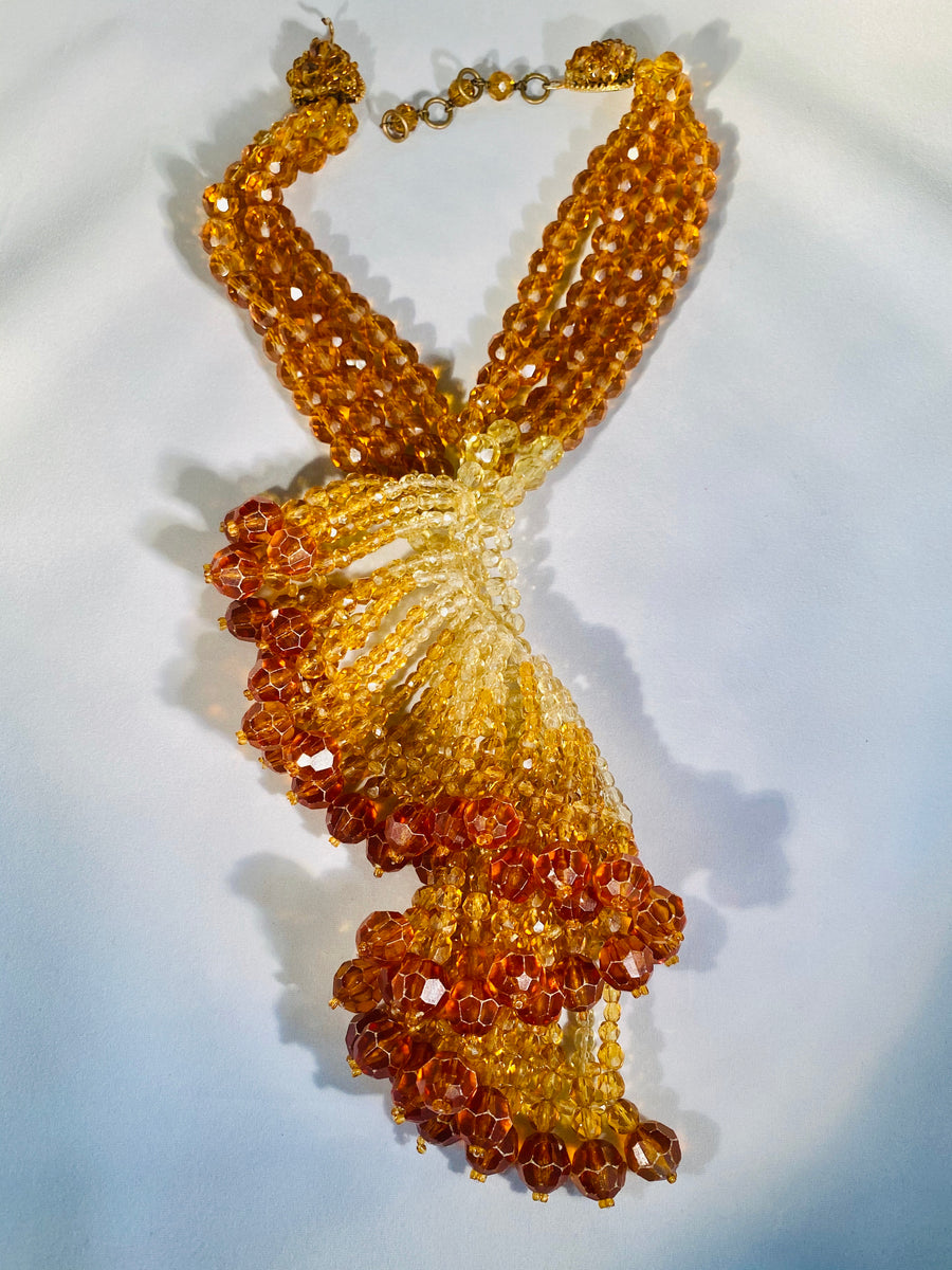 Coppola e Toppo 1940's necklace