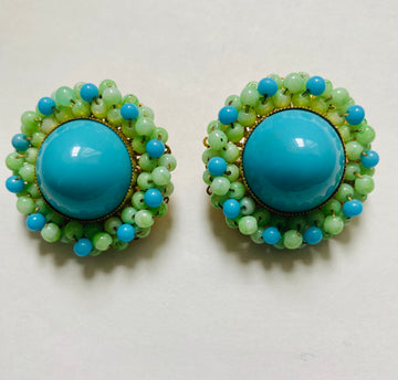William de Lillo Earrings 1969