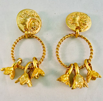 Versus Earrings