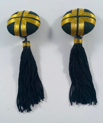 Passementerie Vintage Earrings
