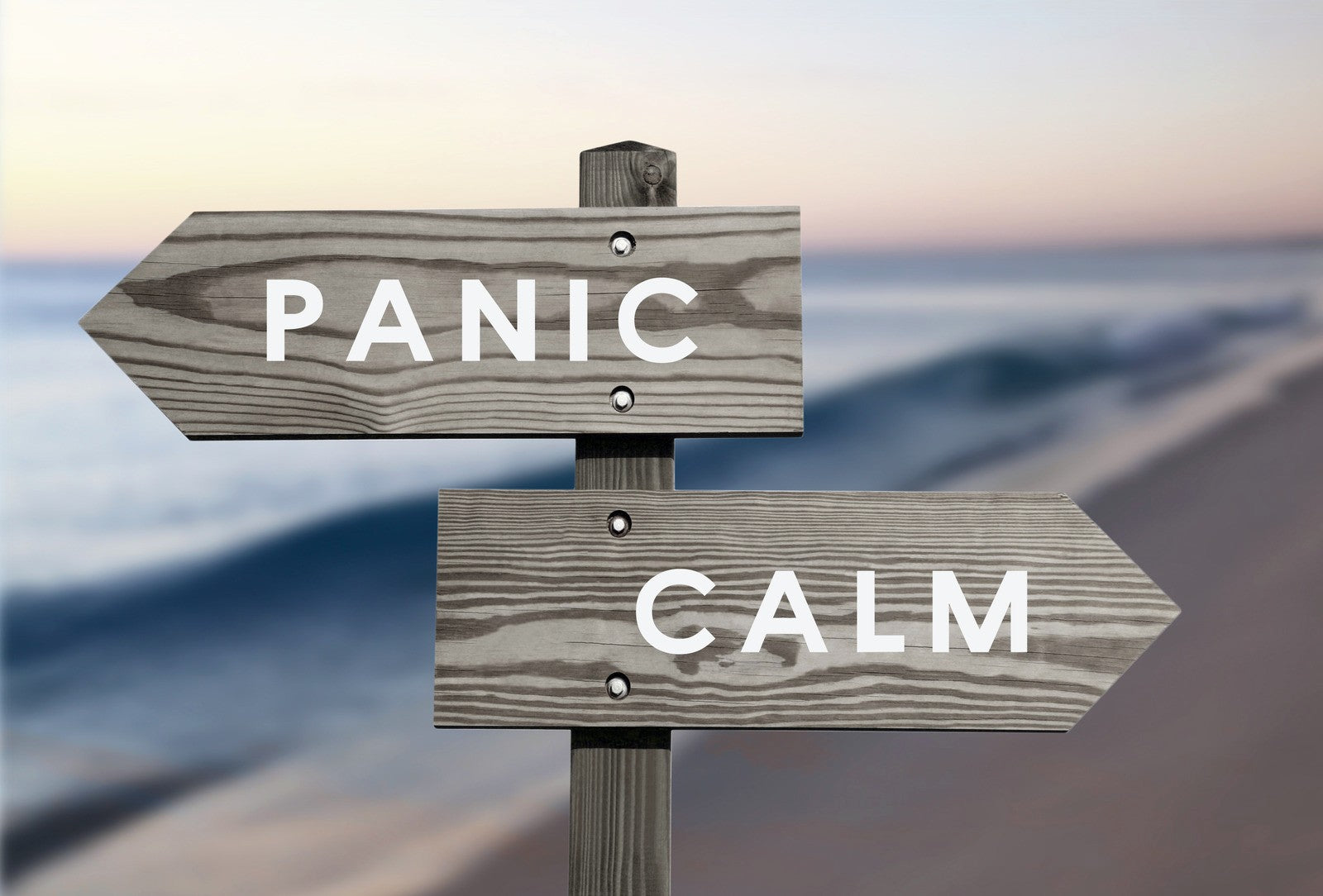 panic or calm directions