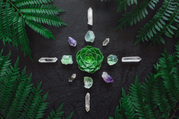 cleansing crystals for crystal grid