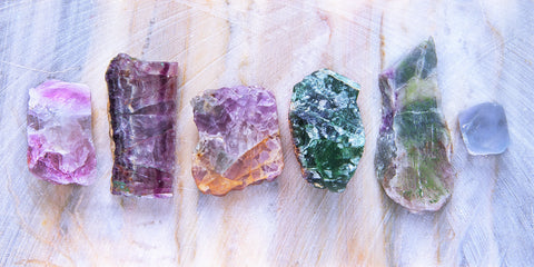 fluorite crystals for decision making