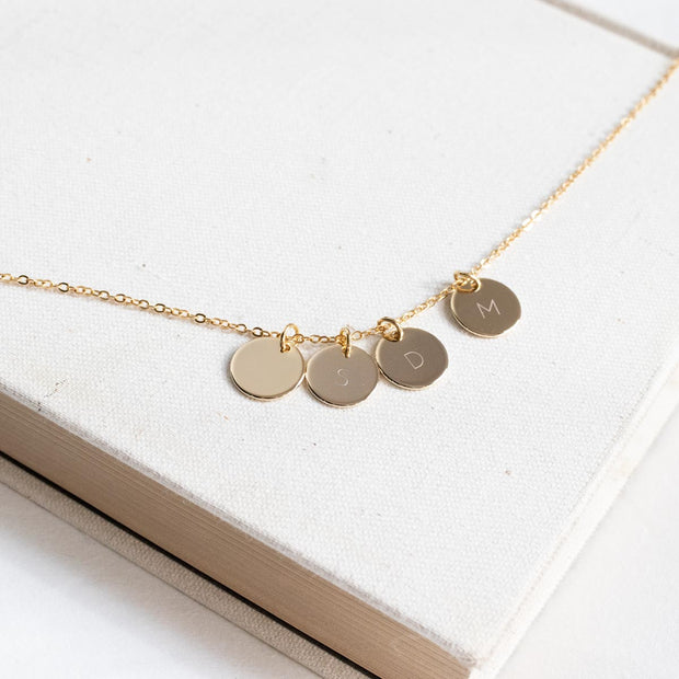 "1/2"" Disc Necklace"