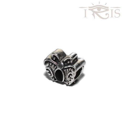 Eunice - Black Crystal Butterfly Silver Filled Charm from IRIS