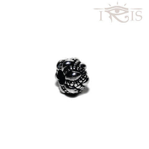 Kris - Silvertone French Crown Silver Filled Charm from IRIS