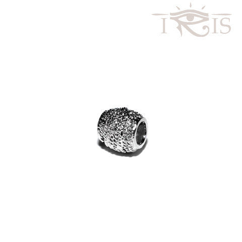 Amelia - Silvertone Pineaple Lane Rhodium Filled Charm from IRIS