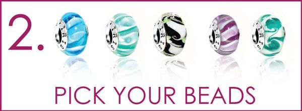 Choose Your Murano Glass Beads