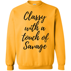 Classy with a touch Sweatshirt