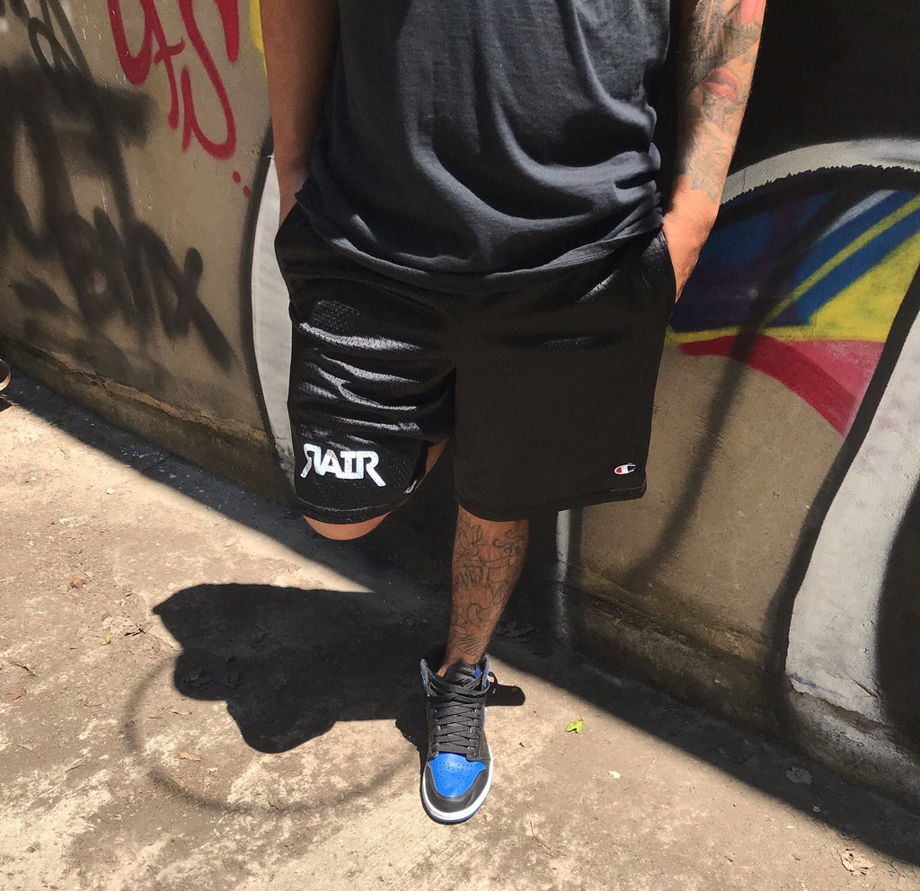 "RAIR ""OG"" Mesh Basketball Shorts (Black)"