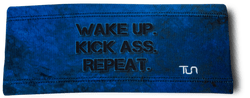 Wake Up. Kick Ass. Repeat. Headband