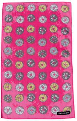 Crazy for Donuts Gym Towel - TowelUpNow