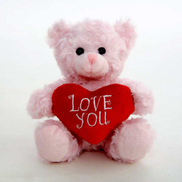 Love You Sitting Bear -- Pink 6