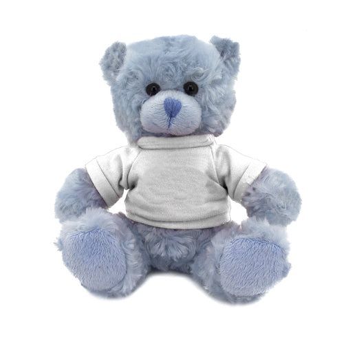 Blue bear with shirt