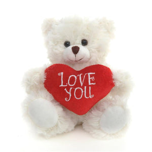 Happy Mother's Day Bear White 6""