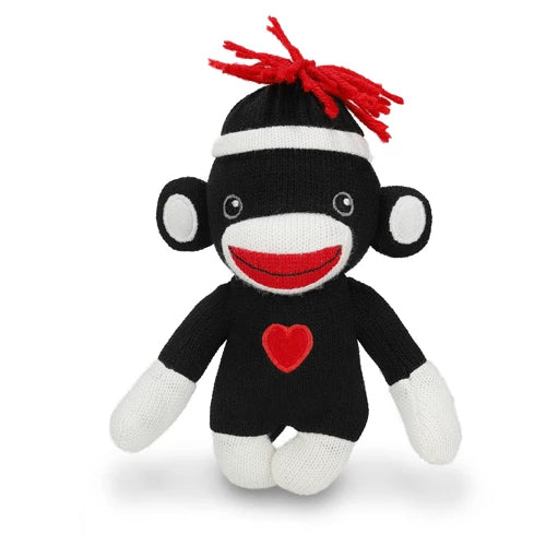 Sock Monkey Stuffed Animals 6″