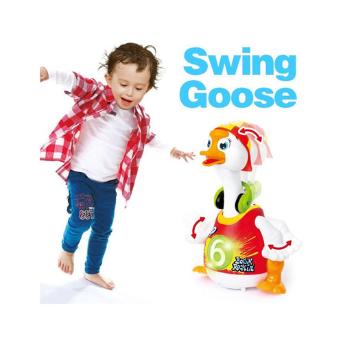 Hip Hop Dancing Walking Swing Goose Musical Educational Gift Toy