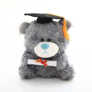Graduation QBbeba Bear – Gray 6""