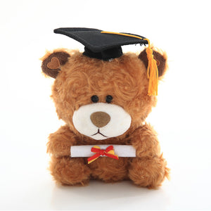 Graduation QBeba Bear – Brown 6""
