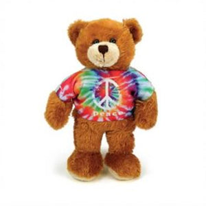 Tie Dye The Peace Bear 6""
