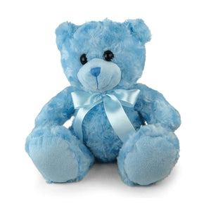 Blue Sitting Bear