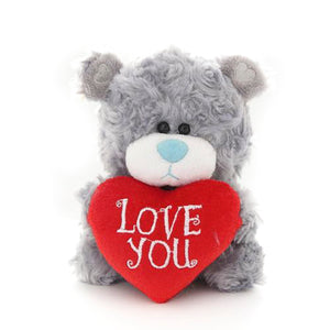 Qbeba Bear Love You Gray