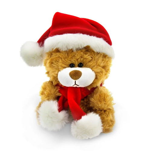 Xmas Qbeba Bear Brown