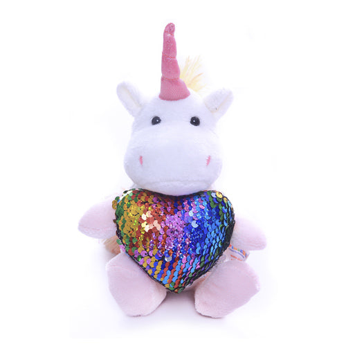 Unicorn with Purple heart