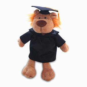 Graduation Goofy Jungle Animal -- Lion 8""