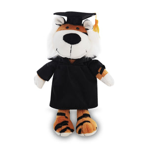 Graduation Goofy Jungle Animal -- Tiger 8""