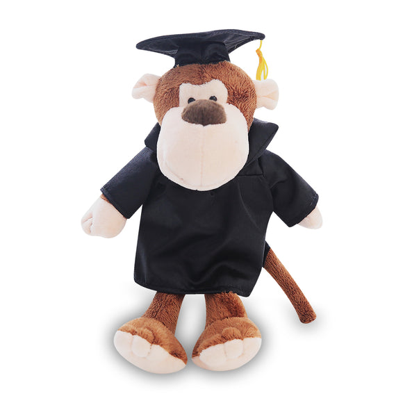 Graduation Goofy Jungle Animal -- Monkey 8