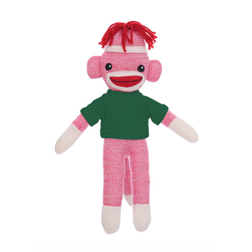 Sock Monkey Pink with Tee 8