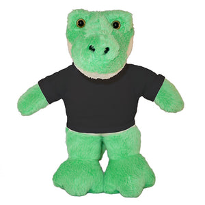 Soft Plush Alligator with Tee