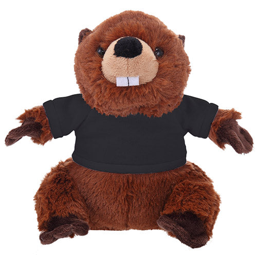 Soft Plush Beaver with Tee