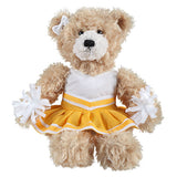 Soft Plush Stuffed Brandon Beige Teddy Bear with Cheerleader Outfit