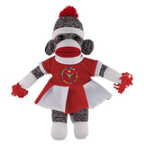 Orginal Sock Monkey (Plush) with Cheerleader Outfit
