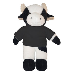 Soft Plush Cow with Tee