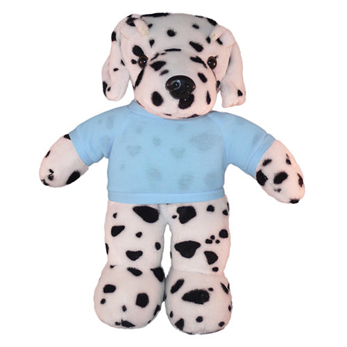 Soft Plush Dalmatian with Tee