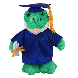 Soft Plush Alligator in Graduation Cap & Gown Stuffed Animal