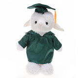 Soft Plush Sheep in Graduation Cap & Gown Stuffed Animal