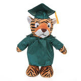 Soft Plush Tiger in Graduation Cap & Gown Stuffed Animal