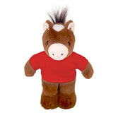 Soft Plush Horse with Tee