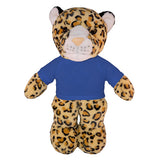 Soft Plush Leopard with Tee
