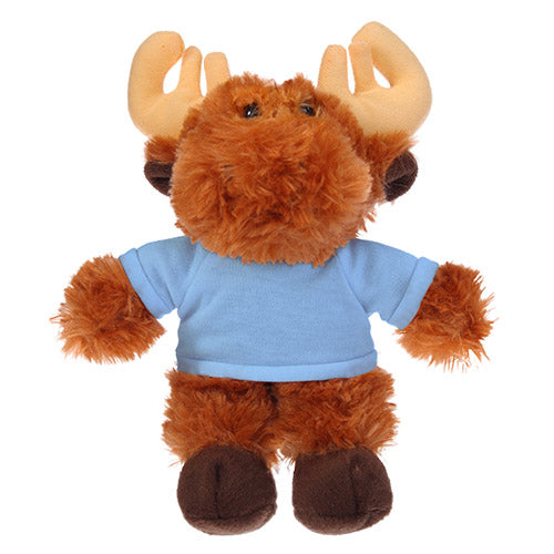Soft Plush Moose with Tee