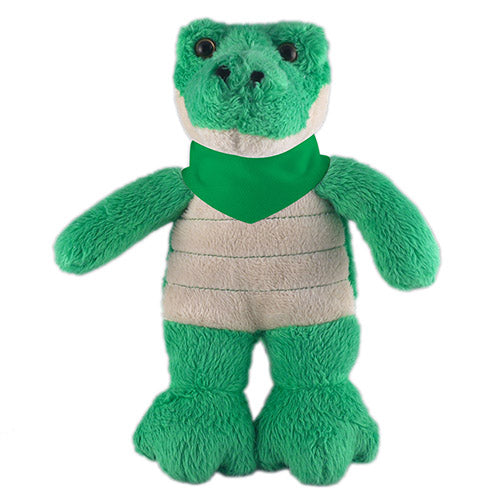 Soft Plush Stuffed Alligator with Bandana