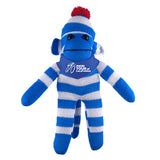 Blue Sock Monkey (Plush) with Bandana